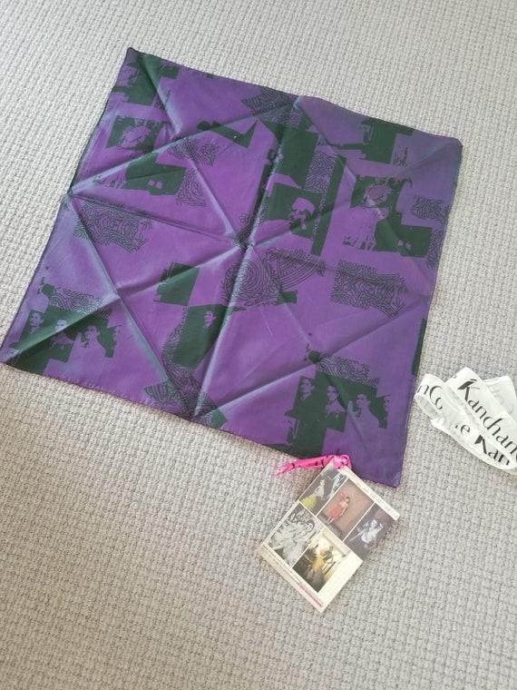 A Vintage Scarf, Kanchan Couture, Square Scarf, De