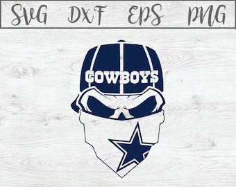 Dallas cowboys skull  cbfe9071f