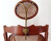 Austrian bentwood barbers chair with cane seat and back - 19th-20th Century