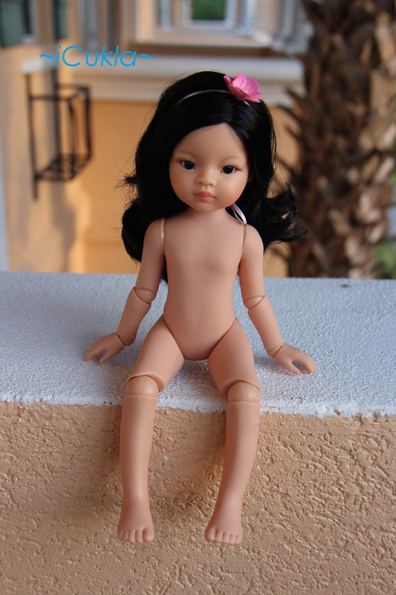 """Paola Reina Articulated Doll~LIU~13.5""""~34cm~OOAK by iCukla~new body~4"""