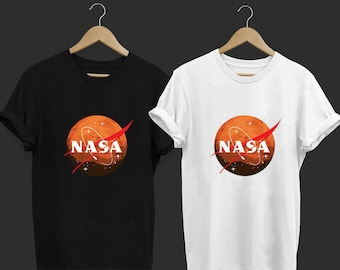 ab1963ef NASA Journey to Mars2 - Funny T Shirt - Funny Shirt - Tops and Tees -  Unisex Adult Clothing - Hypebeast - Streetwear