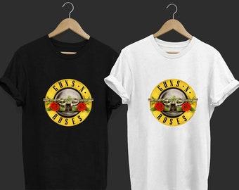 42a3ffabd Gun N Roses - Guns n Roses - Band T Shirt - Rock Band T Shirt - Tops and  Tees - Unisex Adult Clothing - Hypebeast - Streetwear