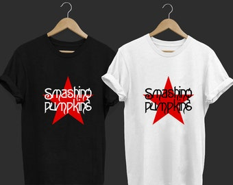 c152bd639 The Smashing Pumpkins - The Smashing Pumpkins Band - Band T Shirt - Tops  and Tees - Unisex Adult Clothing - Hypebeast - Streetwear