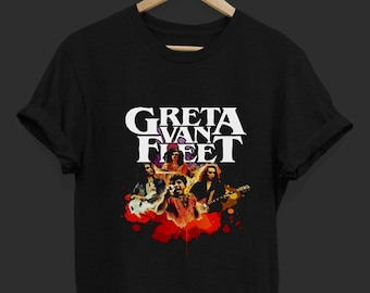 75e6f6ed Greeta Van Fleet Camp Fleet 2018 - Greeta Van Fleet - Rock Band T Shirt -  Tops and Tees - Unisex Adult Clothing - Hypebeast - Streetwear