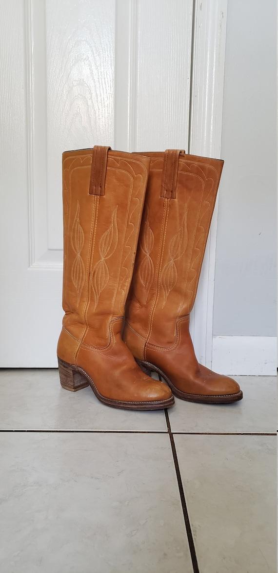 Vintage 1970s Frye Boots