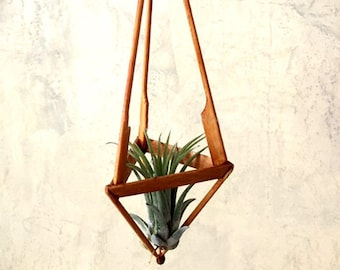 Home & Garden Flower Pots & Planters Set Of 4 Macrame Plant Hangers Hanging Plant Shelf Indoor Wall Planter Decorative Flower Pot Holder Boho Home Decor