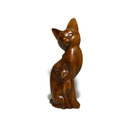 Zen Garden Inner Peace Yoga Cats Set of 2 Figurine Collectible Sculpture Decor 5