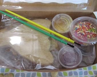 Princess Cookie Kit, Gluten Free, Birthday Girl, 1st bday, DIY treat, Party Activity, Tiara, Dairy Free, Egg Free, School Safe, Castle, shoe