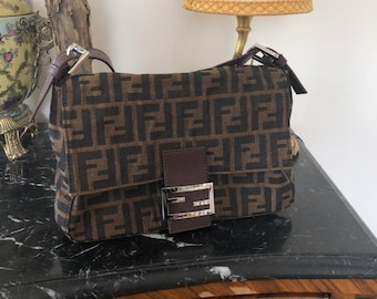 6990857251e45 Fendi baguette mama zucca vintage bag