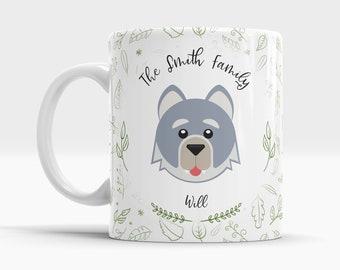 Forest Animal Mug - Wolf - 10oz