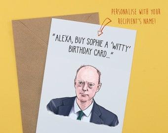 Best friend birthday card | Quarantine birthday card | Covid card | Chris Whitty | funny thank you card