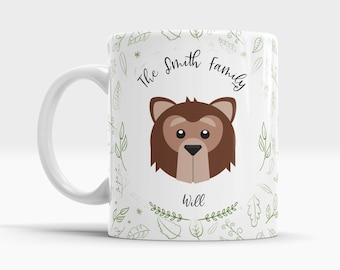Forest Animal Mug - Bear - 10oz