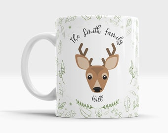 Forest Animal Mug - Deer - 10oz