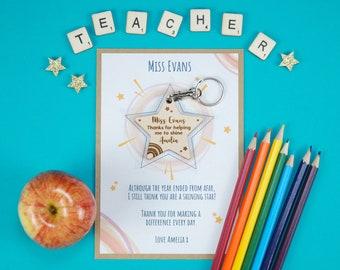 Thank you teacher card - Teaching assistant gift