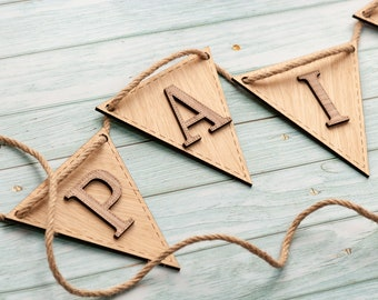 Wooden letters for nursery. Custom bunting. Wooden name sign nursery. Baby boy bunting. Wooden lettering. Wooden letters for wall