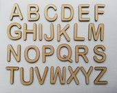 Arial Rounded Font Wooden Letters Laser Cut MDF 5cm 7.5cm 10cm 12.5cm 15cm 20cm 25cm 30cm high wood letters - Perfect for signs craft use