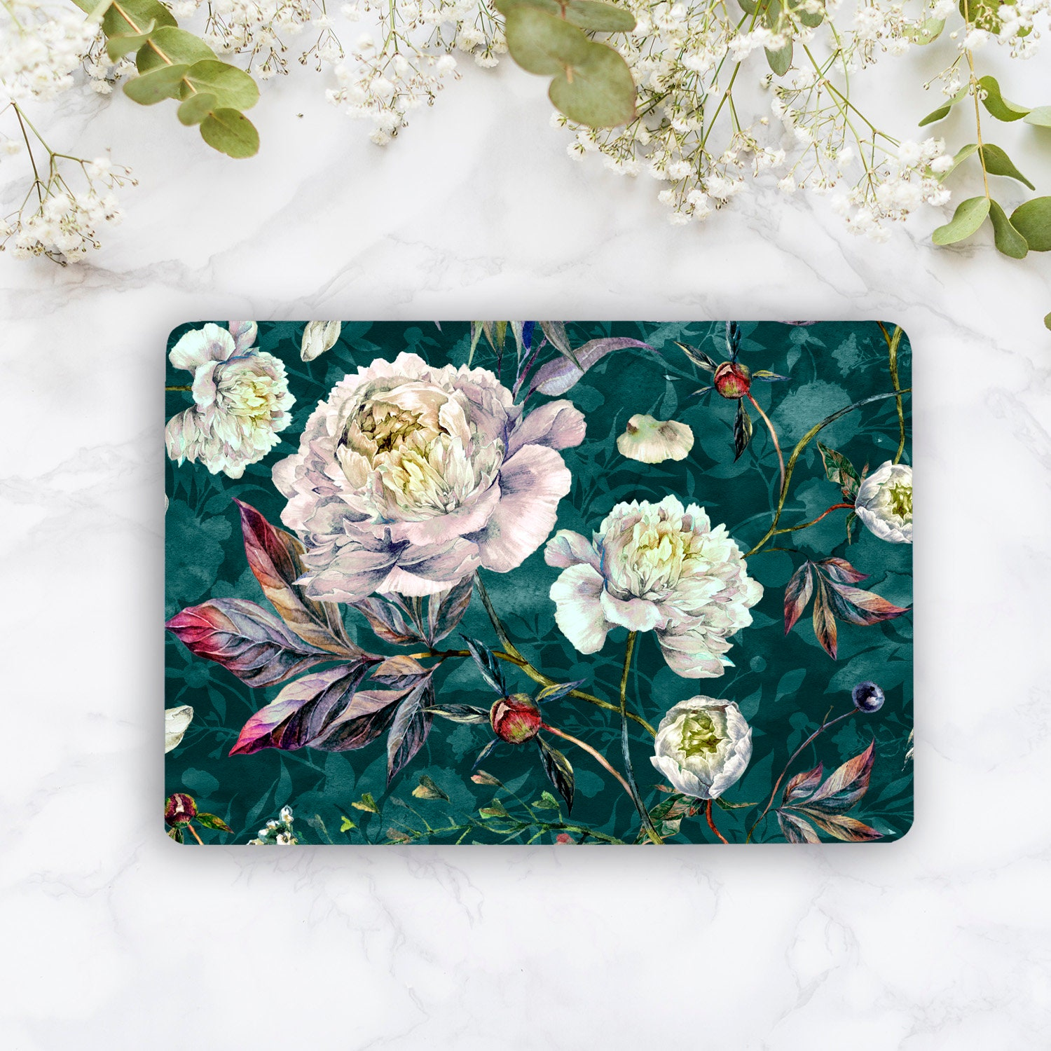 Floral Laptop Skin Flowers Notebook Vinyl Decal Dell Hp Lenovo Asus Acer Laptop Sticker Decal Skin Cover Skins For Any Laptop Stickers MB310