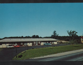 Twin Pines Motel OH Picture Postcard Vintage Color Postal Card Unused F
