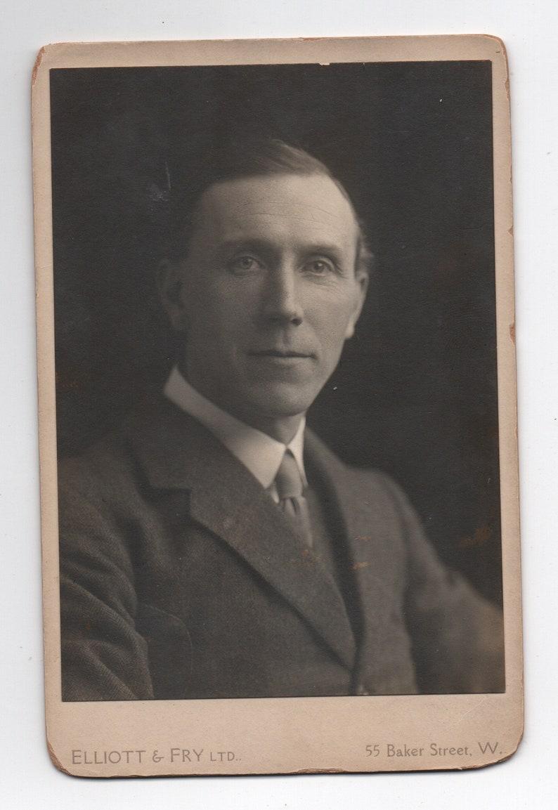 John Davys Beresford Original Elliott /& Fry Cabinet Card Antique Photo