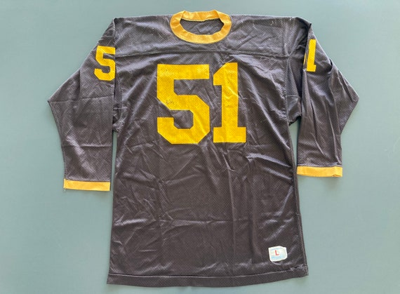Vintage 70's Champion Yellowjackets Football Jerse