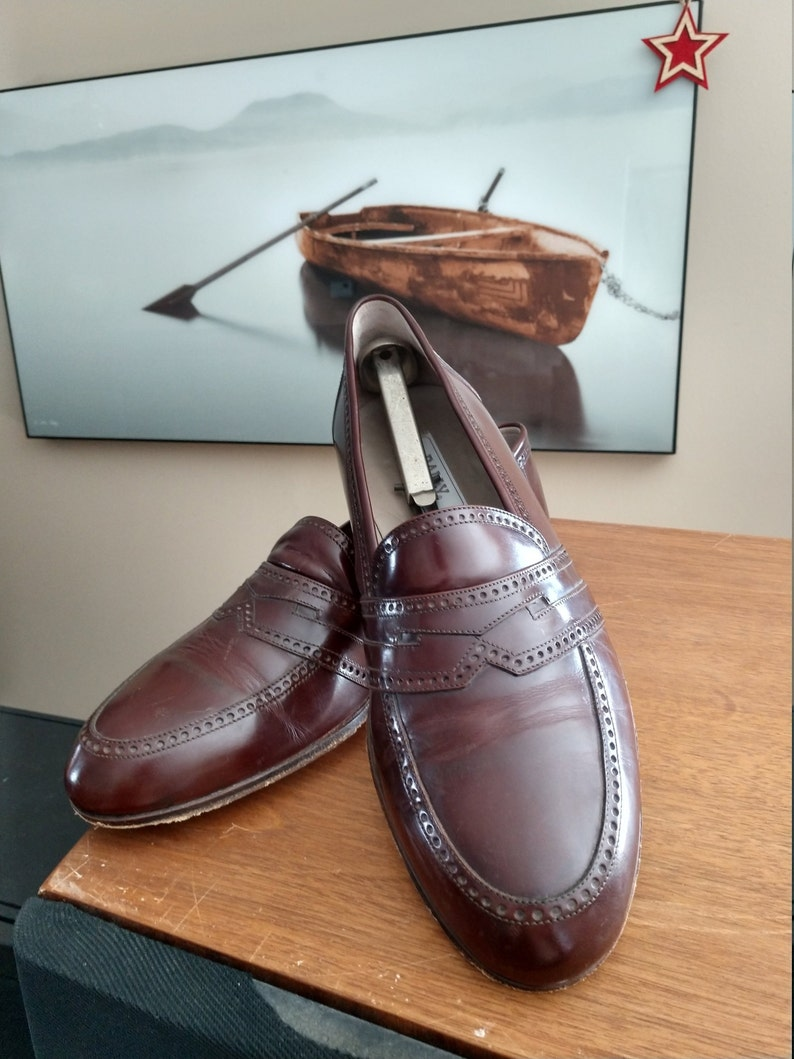99a05acf03ecc Vintage Bally Mens loafers