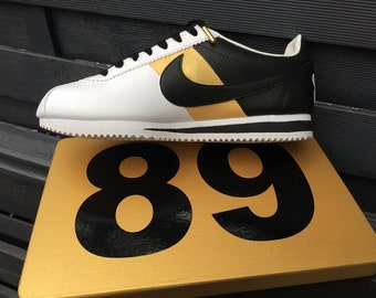 cheap for discount 45eb5 894e8 Nike custom x Gold x Cortez