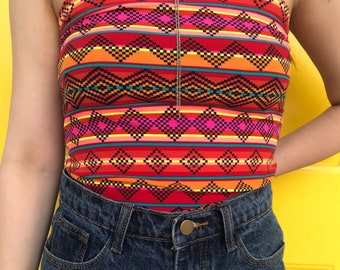 1b8fa8a485 Patterned tube top
