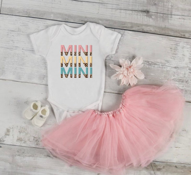 Infant bodysuit  \u201cMINI\u201d