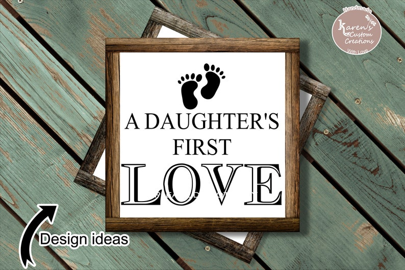 Download Dad a sons first hero SvG and a Daughters first Love SvG ...
