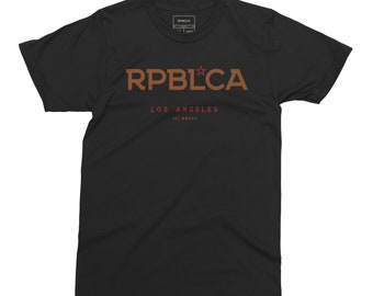 5df393372d PRIMO RPBL*CA   California Lifestyle   Men's Tee - Aged Black