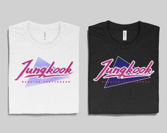29562deac57 Retro BTS Jungkook Unisex T-shirt