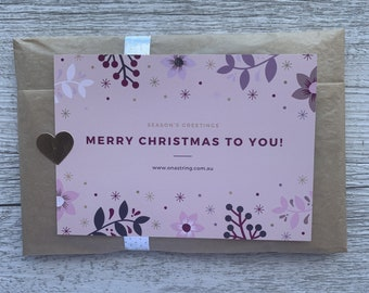 Christmas Earrings & Scrunchie Gift Pack   Christmas Gift Idea   Christmas Tree or Star Earrings   Matching Scrunchie