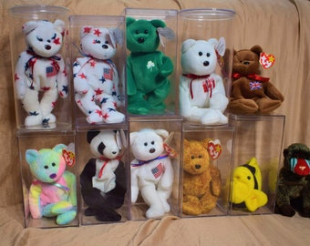Lot of 12 EXTREMELY RARE Original Retired Ty Beanie Babies (Read  Description) 04023f4c8b60