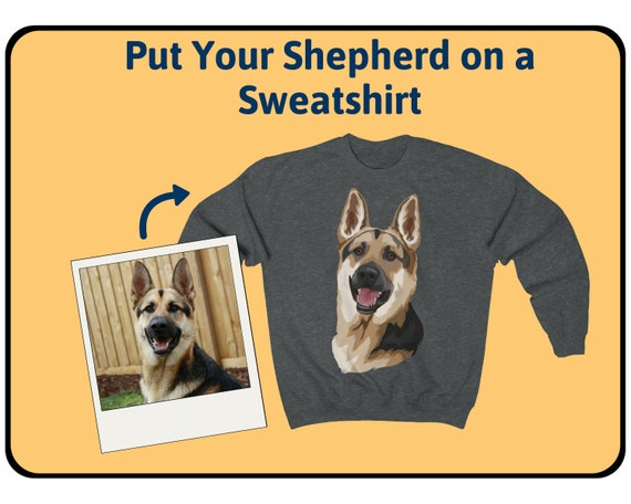 German Shepherd Dog Lover Adult Hoodie Birthday Gift Idea Size S-XXL
