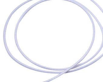 10 meters round rubber 1 mm rubber strand rubber band rubber cord 1 mm 10 m for makeshift mask mask mouth-nose mask face mask (0.99 euro/meter)