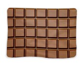 Chocolate blanket for home, walks and rest, warm and soft plaid for adult, kids, girls, boys, women, for lovers or family, funny blanket