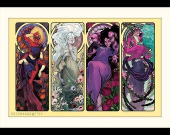 Steven Universe - The Fusions