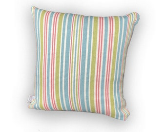 Farmhouse Style Pillow Covers (Spring/Summer Striped)
