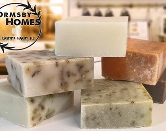 100% Organic Extra-Virgin Coconut Oil Handmade Soap// Cold Process// VEGAN// Handmade
