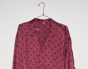 CAMISA saten rosa f99ca42623c6c
