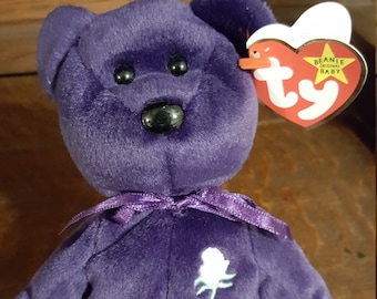 Princess Ty Beanie Baby TY Baby Babies original collection rare vintage  collectible c69838864f27
