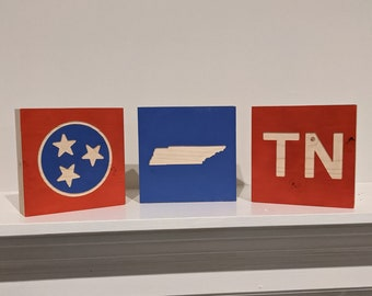 Tennessee Wood Blocks (Set of 3)
