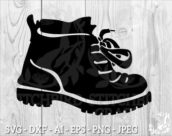 Hiking Boots Png Etsy