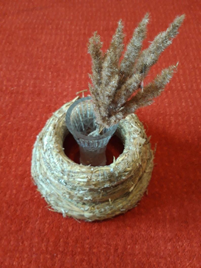 12 / 30cm Straw Wreath Base For Crafts DIY Wreath | Etsy