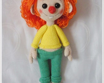 Crochet instructions doll