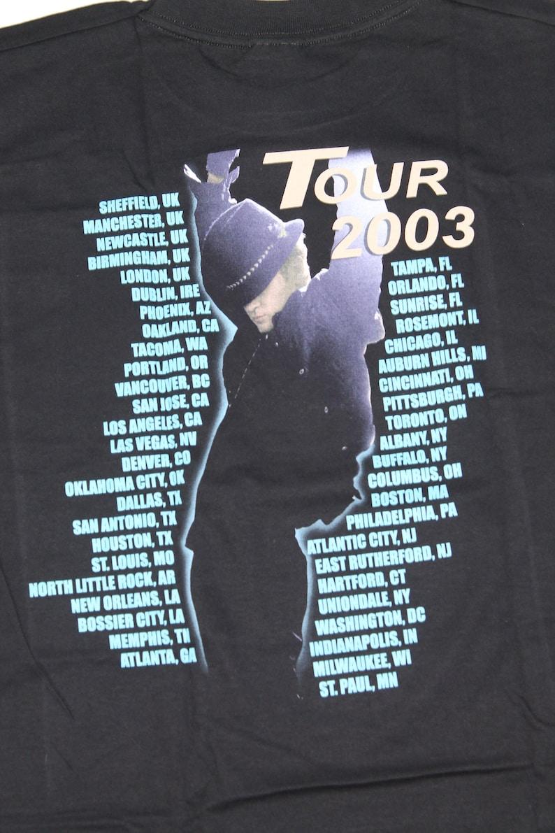 NEW Justin Timberlake tour shirt Justified shirt Pop Neo soul Rhythm and blues Kids shirt size ML 12-13 Yrs