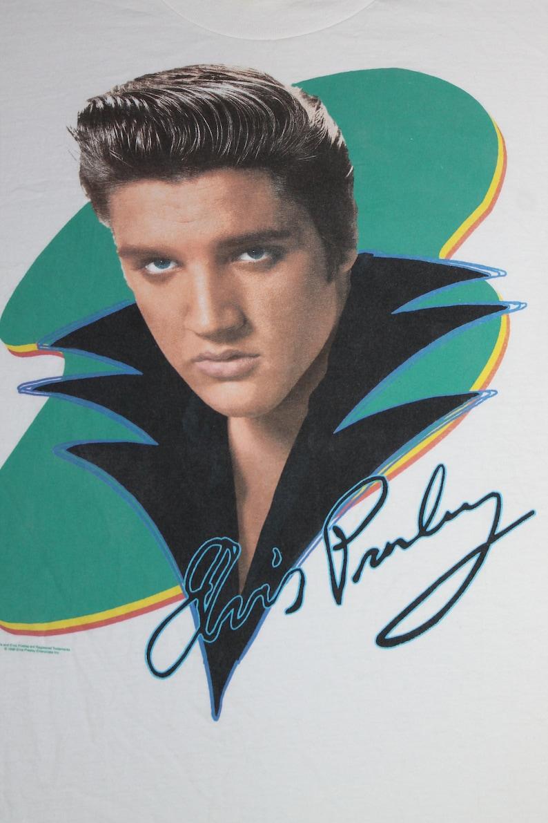 90s Elvis Presley shirt Rock and roll Pop Rockabilly Country Blues Gospel Rhythm and blues Men/'size L