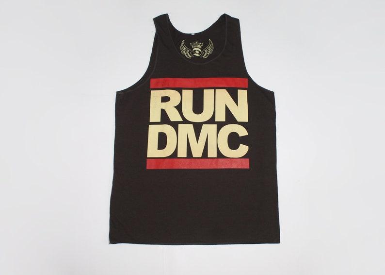 Run DMC shirt American hip hop band shirt Rap rock Hip hop Men/'s size L