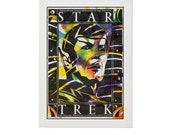Star Trek Mr. Spock Retro Poster