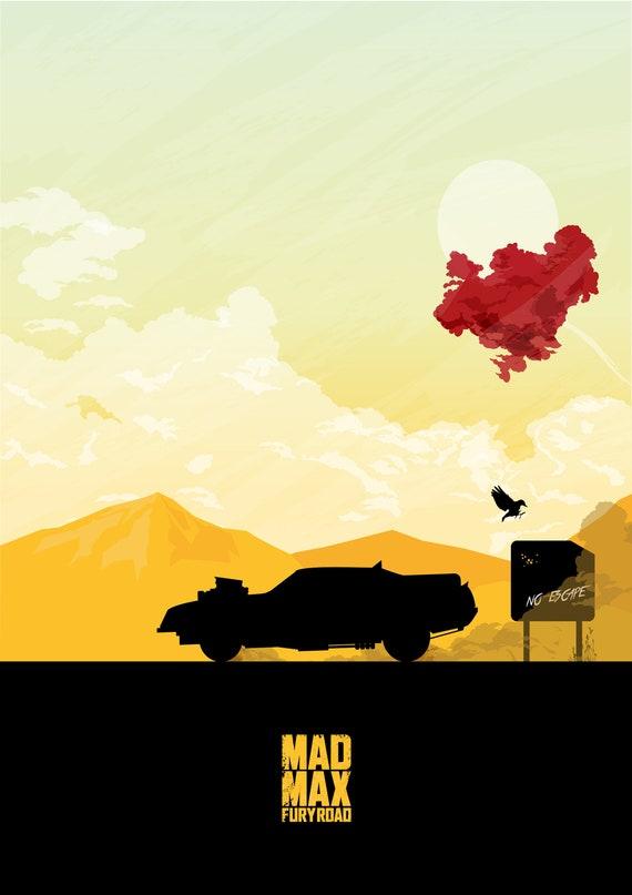 Art Print Poster CANVAS Mad Max 4 Fury Road Movie 6